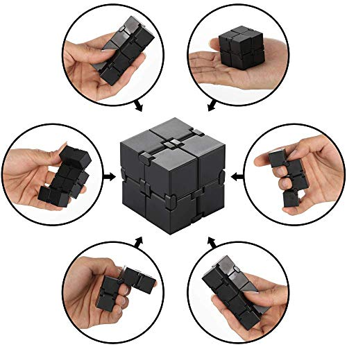 Infinity Cube Fidget Toy, Sensory Tool EDC Fidgeting Game for Kids and Adults, Cool Mini Gadget Best for Stress and…