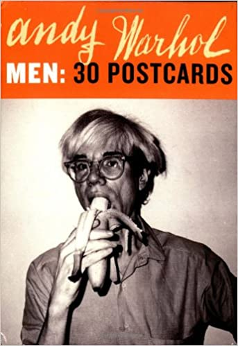 andy warhol men 30 postcards