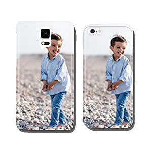 Children on the Beach cell phone cover case Samsung S6