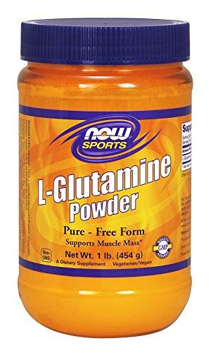 NOW  Sports L-Glutamine Powder, 1-Pound