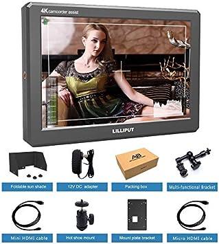 LILLIPUT A8 monitor de campo de vídeo para cámara réflex digital ...