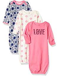 Baby 3-Pack Organic Cotton Gown