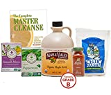 Maple Valley 10 Day Organic Master Cleanse Lemonade Detox Diet Bundle with Book The Complete Master Cleanse