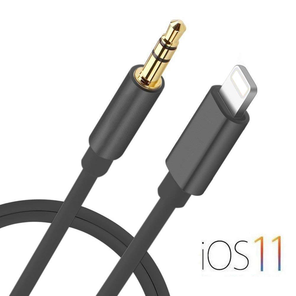 new style a1413 fe2e8 Lightning to 3.5mm Male Aux Audio Cable iPhone 7 Car Aux Cable, Seotic  3.3ft / 1M Lightning to Male 3.5mm Auxiliary Audio Stereo Cord for iPhone 7  / 7 ...