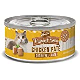 Merrick Purrfect Bistro Grain Free Chicken Pate Canned Cat Food 5.5-Ounce Case of 24