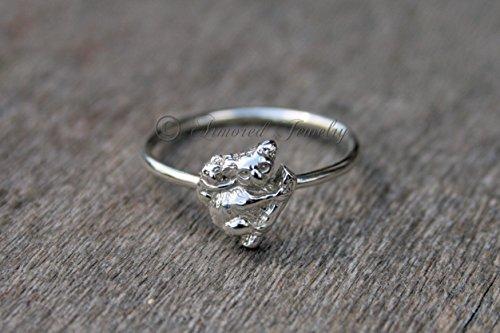 (Koala Bear & Cub Ring - Sterling SIlver)