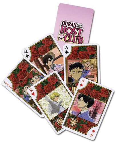 Ouran High School Host Club Playing Cards ()
