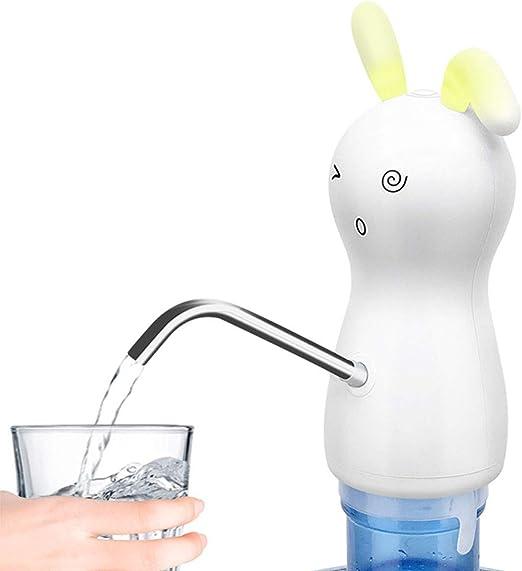 WYING Regalo Conejo Bomba de Botella de Agua Carga USB Automático ...
