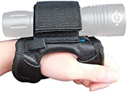 Tonelife Handfree Dive Torch Light Glove Mount Holder Soft Handmount Miltary Style (Without Torch)