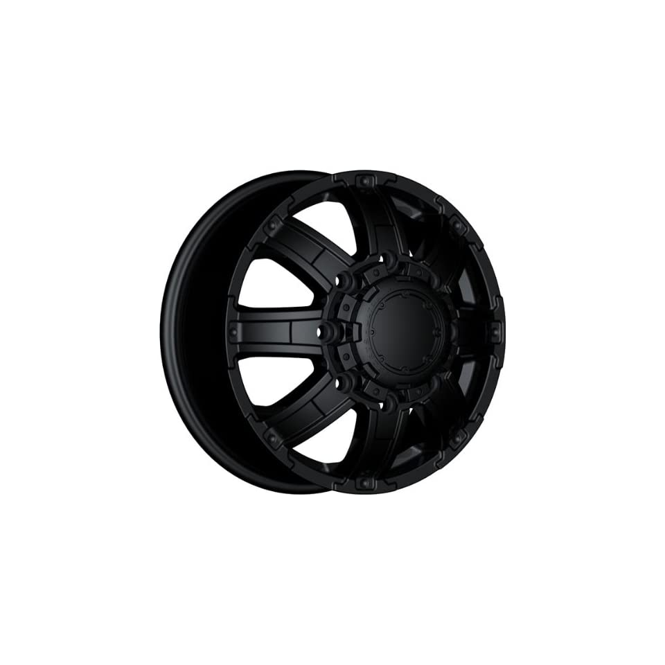 ULTRA   type 24 gauntlet dually   17 Inch Rim x 6.5   (8x210) Offset (129) Wheel Finish   matte black
