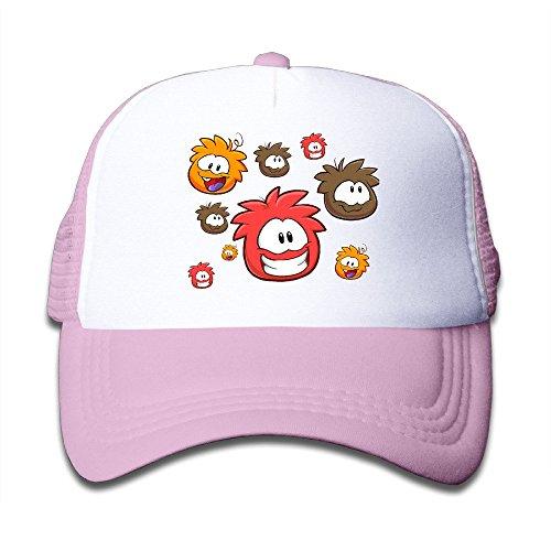(Duola Interface Game Mix Girl's Hat Running Cap Lightweight Mesh Flexfit Pink)