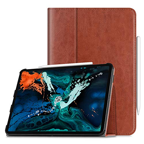 "Fintie Folio Case for iPad Pro 12.9"" 3rd Gen 2018 - Vegan Le"
