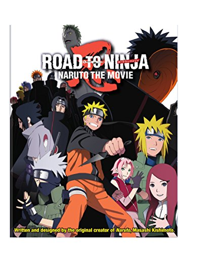 Naruto Shippuden Road to Ninja the Movie 6 Combo Pack (Blu-ray + DVD)