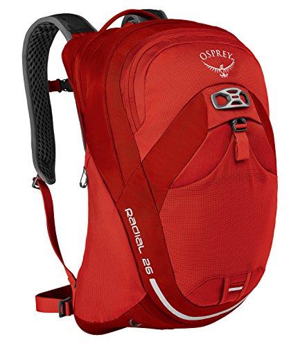 Osprey Packs Radial 26 Daypack, Lava Red, Medium/Large