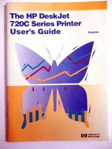 HP DeskJet 720C Series Printer User's Guide (in English)