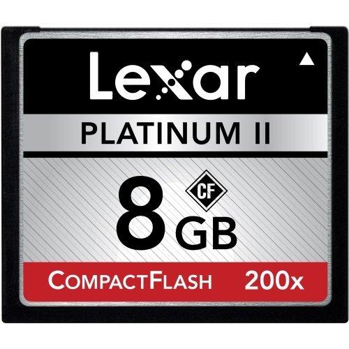 Lexar Media Platinum II LCF8GBBSBNA200 8 GB CompactFlash ...