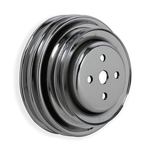 Mr. Gasket 8829 Chrome Plated Steel Engine Pulley