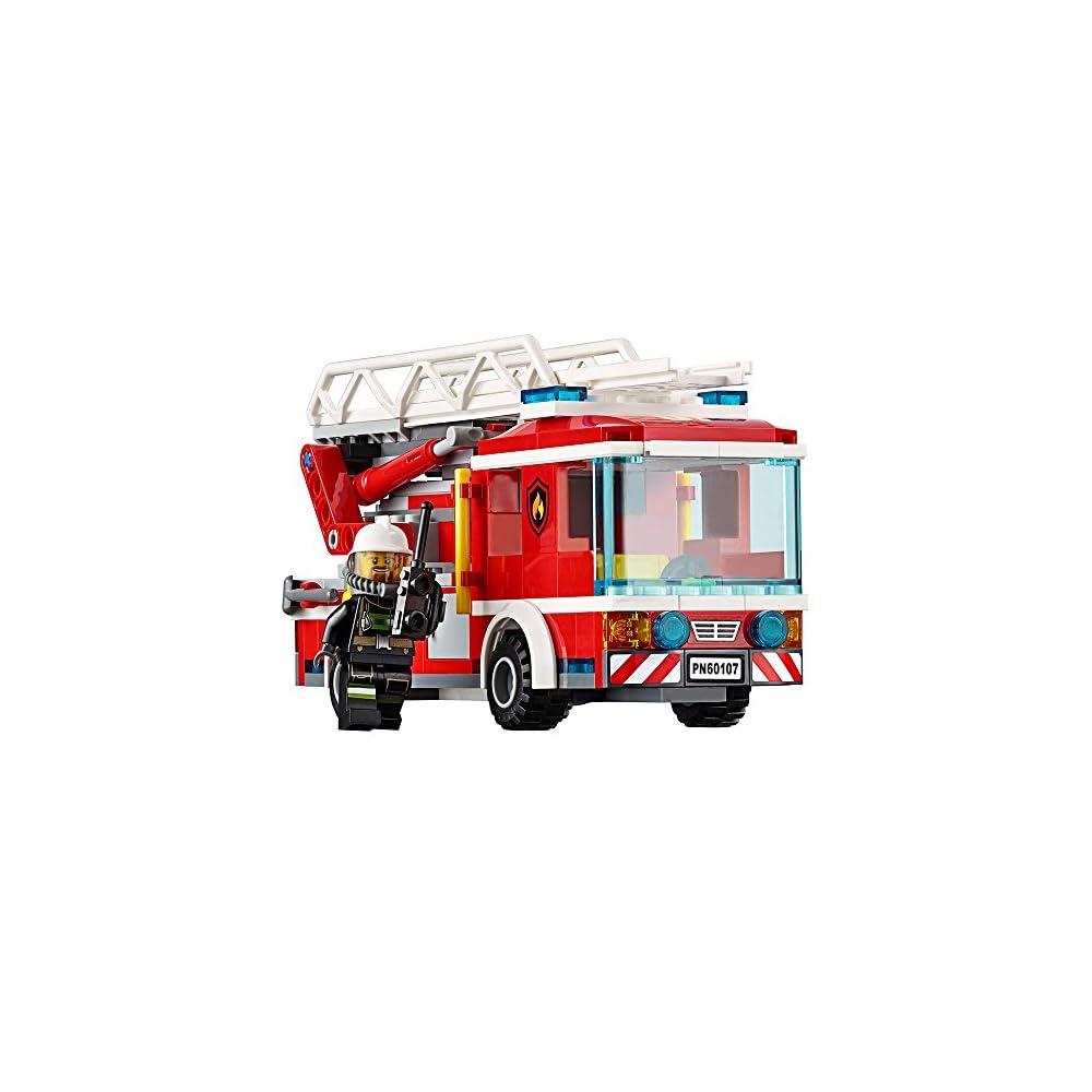 Lego City Fire Ladder Truck 60107 Mypointsaver