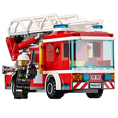 LEGO City Fire Ladder Truck 60107 by LEGO (Image #1)