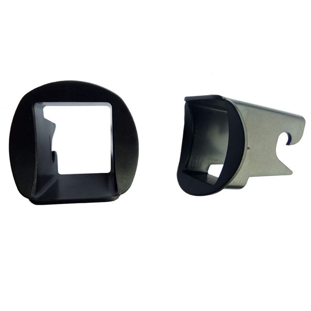 Xeminor Child Car Safety Seat Interface Buckle Fixed Guide Groove 2 Pcs Black by Xeminor (Image #3)
