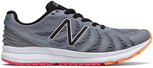 New Balance Women's RUSHV3 Running Shoe, Steel/Black, 7.5 D US by New Balance