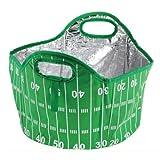 6 gallon beverage cooler - 6 Gallon Football Tailgate Cooler Tote