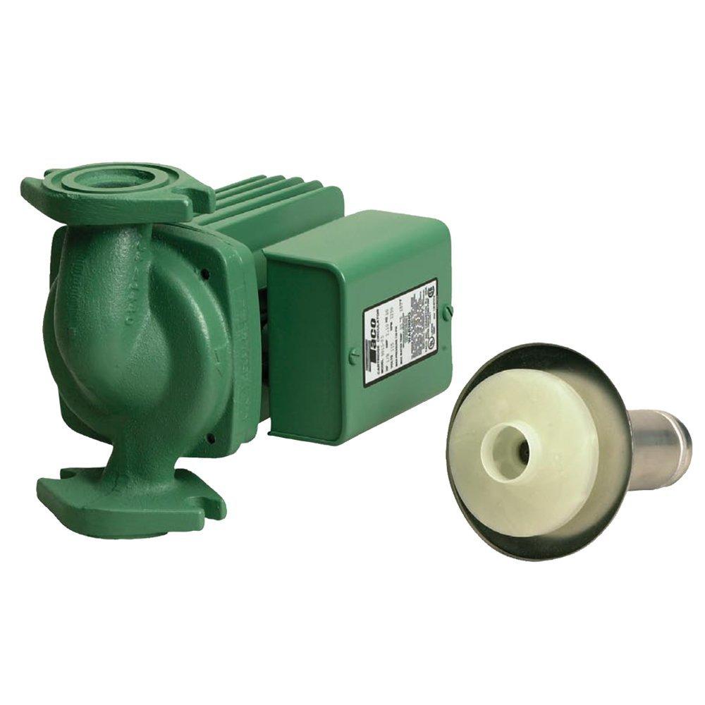Taco 0013-BF3-J Circulating Pump, Bronze Cartridge For Longer Life! by Taco