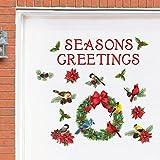 Collections Etc Garage Door Christmas Decoration