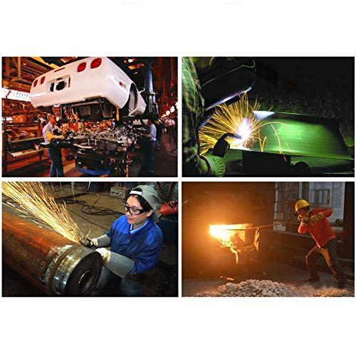 TYXHZL Delantal De Cuero Delantal - Soldadura Ropa De Trabajo Pesado para Hombres Delantal De Alta Temperatura Herramientas Resistentes Al Fuego Delantal ...