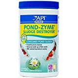 API POND-ZYME SLUDGE DESTROYER Pond Water Cleaner With Barley 1-Pound Container