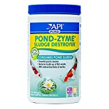 API POND-ZYME SLUDGE DESTROYER Pond Cleaner With Natural Pond Bacteria And Barley, 1-Pound Container