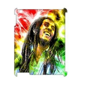 J-LV-F Bob Marley Pattern 3D Case for iPad 2,3,4