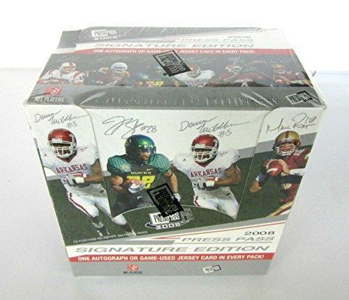 2008 Press Pass Signature Edition Football Box (Hobby)
