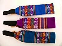 Three (3) Headbands Hair Ties Assortment Hand woven Colorful Peru Pack *004258*