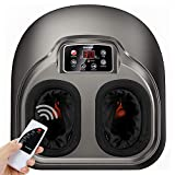 Arealer Shiatsu Foot Massager Machine with Remote Control - Deep...