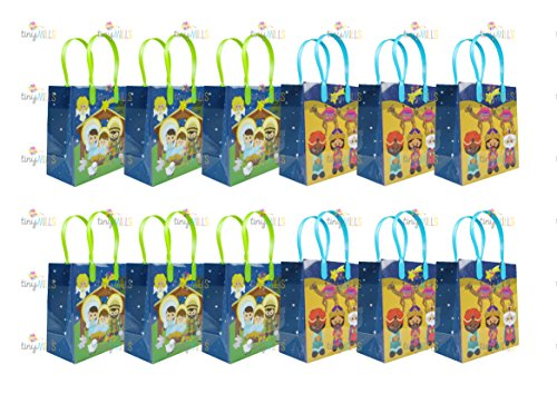 Nativity Party Favor Bags Treat Bags, 12 - Party Supplies Christmas Christian