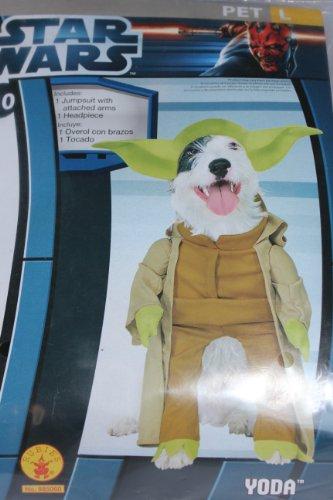 Yoda Dog Costume - Large ()