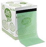 JIFFY GREEN BUBBLE DISPENSER BOX GREEN
