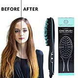 Premium Ionic Hair Straightener Brush by Modosano