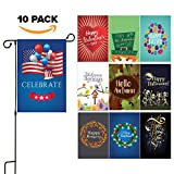 Seasonal Yard Garden Flag Set - Double Sided 12