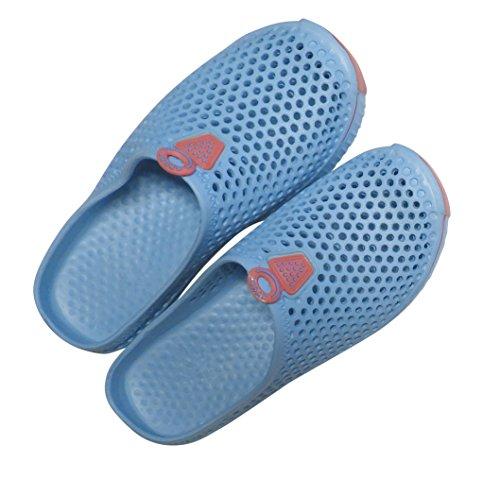 Diny Home & Style Donna Da Donna Slip On Sneaker Zoccoli Sandali Blu