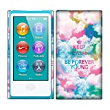 Apple iPod Nano 7 (7th Generation) Case, Fincibo (TM) Back Cover Hard Plastic Protector, Keep Calm Be Forever Young