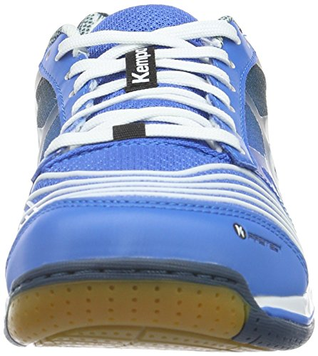 Kempa Attack Two, Zapatillas de Balonmano Unisex Adulto Azul (04)