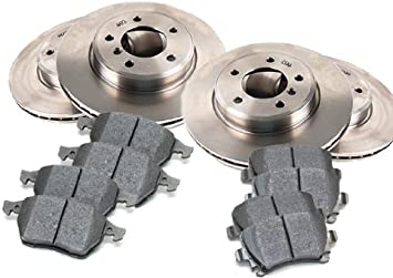 OE Replacement 2014 Fits Nissan Maxima Rotors Ceramic Pads F