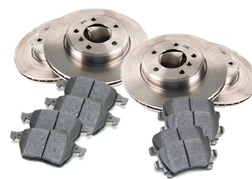Alcon Front Brake - 2008 - 2009 JAGUAR XKR Exc. Alcon Brakes Front and Rear Brake Pads and Brake Rotors OEM Replacement Direct Fit Brake Kit
