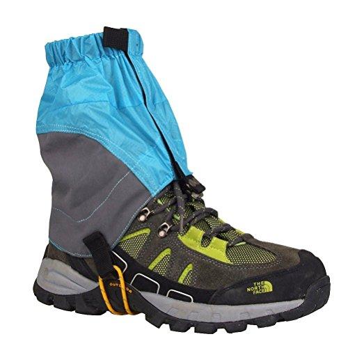 WINOMO Adjustable Outdoor Waterproof Ankle Walking Gaiters Hiking - 1 Pair