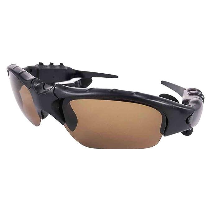 Gafas De Sol Polarizadas Inteligentes Que Montan Gafas De Sol De Conducción Wireless Sports 4.1 Auriculares Bluetooth: Amazon.es: Ropa y accesorios