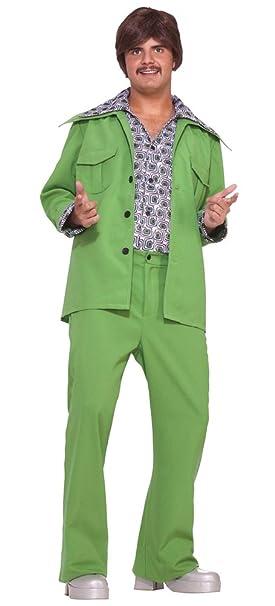 Amazon.com: adult-costume ocio 70s disfraz de Halloween ...