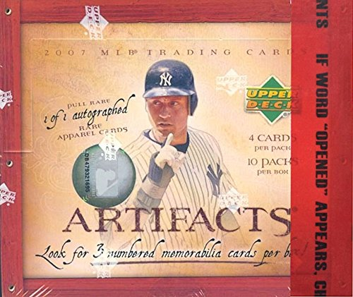 2007 Upper Deck Artifacts Baseball Card Unopened Hobby Box -