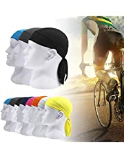 Ccoco 1Pc Bike Pirate Scarf Sports Bicycle Hat Headband Riding Cycling Cap Headscarf Hip-Hop One Size Nine Color